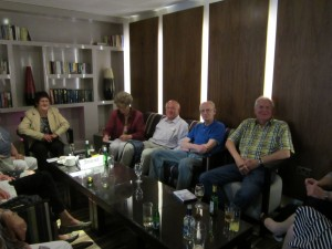 Hannover Seniors meet Bristol Hannover Council (photo courtesy of Lynda Evans)