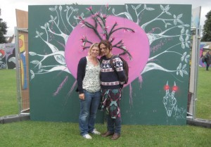 UPfest Love Tree3 Mansha and Jasmin