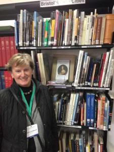 Margitta Schuermann in Bristol Library 2
